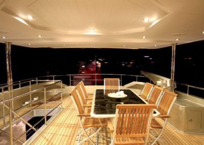 deck at night